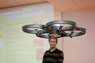 Photo: Drone à l'écoute avec Benoît Labourdette