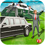 Presidential Security Driver Icon