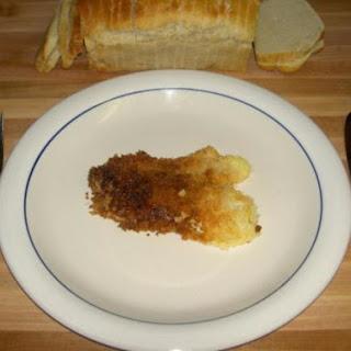 Parmesan Panko Crusted Tilapia.