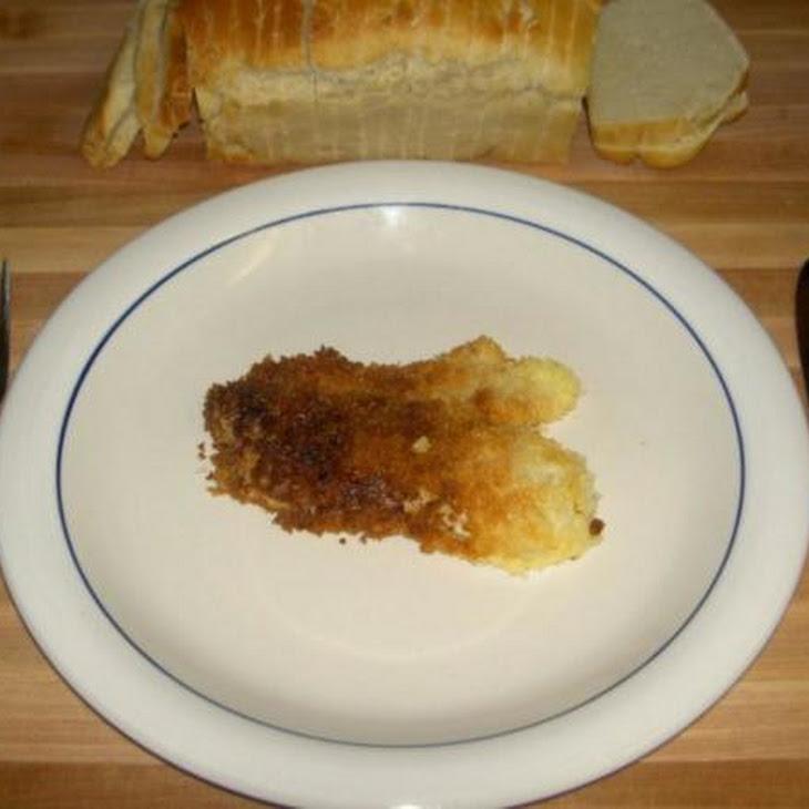 Parmesan Panko Crusted Tilapia