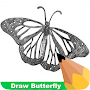 How To Draw Butterfly APK icon