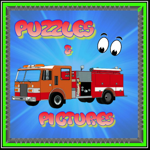 Fire Truck Puzzles for Kids