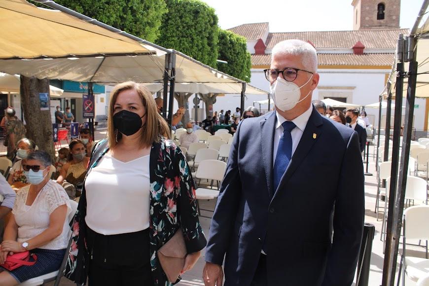 El alcalde y la teniente de alcalde de Huércal de Almería.