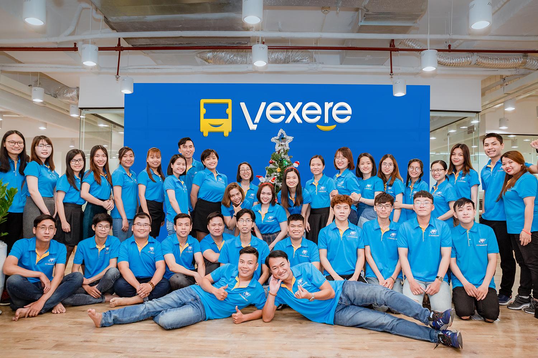 Đội ngũ nhân sự trẻ trung, năng động của Công ty VeXeRe