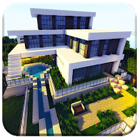 Download Modern Mansion Map House For Minecraft Free For Android