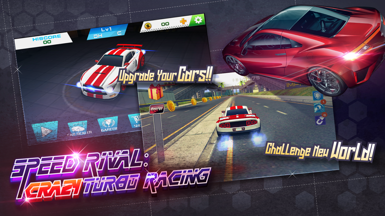 Speed Rival:Crazy Turbo Racing- screenshot