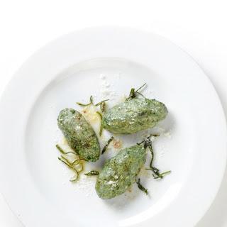 Swiss Chard Malfatti with Sage Brown Butter Recipe