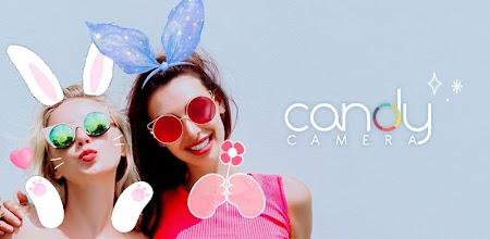دانلود Candy Camera - selfie, beauty camera, photo editor