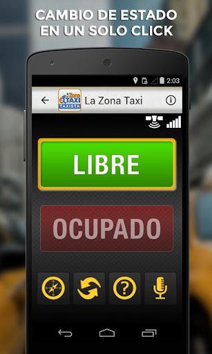La Zona Taxi App Taxista
