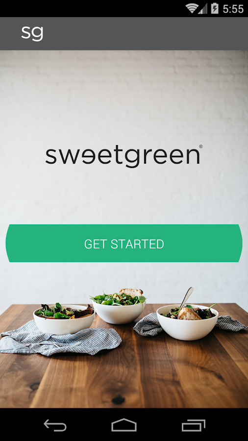 sweetgreen rewards- screenshot