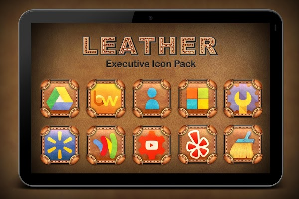 Leather Executive Icon Pack