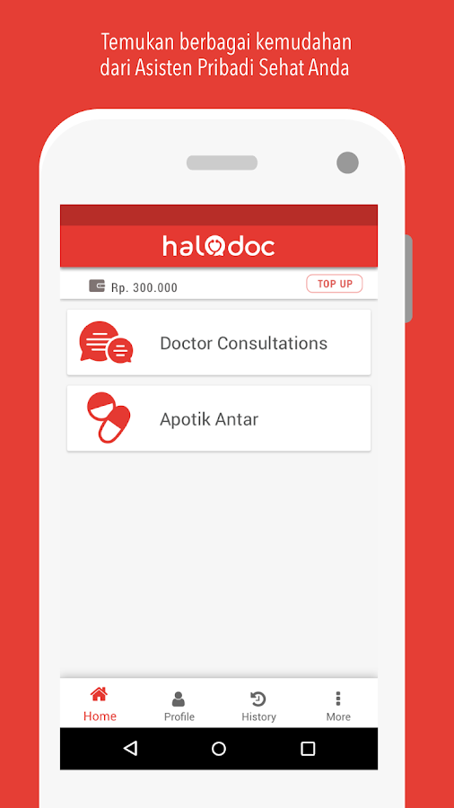 HaloDoc- screenshot