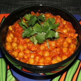 Chickpea and Lentil Curry.