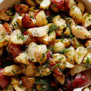 Herb Roasted Baby Potatoes.