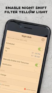 iNight Shift : Blue Light Filter - náhled