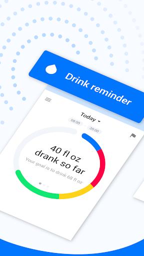 Drink Water Reminder & Water Tracker - Hydro Coach 4.2.10 screenshots 2