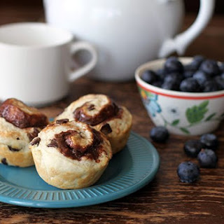 Philly Chocolate Cream Cheese Breakfast Biscuits.