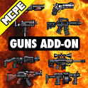 Guns Mod PE - Weapons Mods and Addons icon