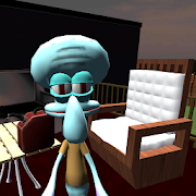 Hello Squidward. Sponge Bob's Neighbor 3D icon