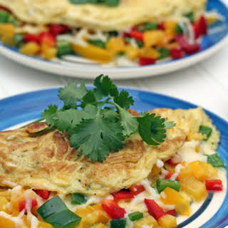 Spicy Mexican Omelet.