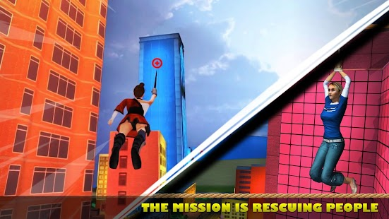 Ninja Girl Superhero Game Screenshot