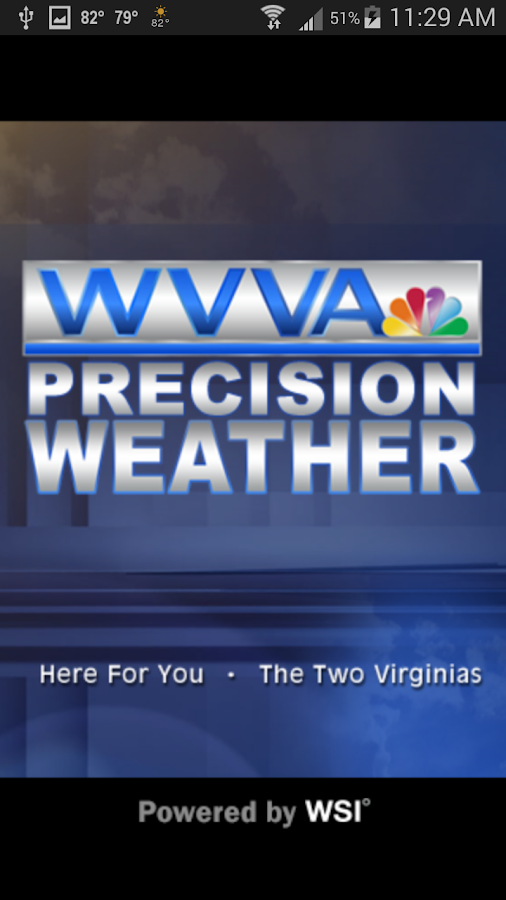 WVVA Weather- screenshot