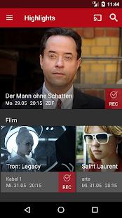 Save.TV – TV Recorder, Fernsehen ohne Werbung Screenshot