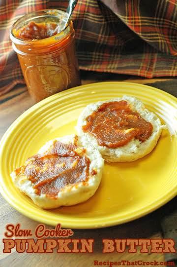 Slow Cooker Pumpkin Butter Recipe