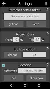 Sunrise Alarm with LIFX screenshot