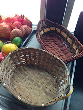 Photo: $1 for these, wicker baskets, I will give you the 3rd (not pictured) as well