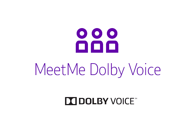 MeetMe Dolby Voice 1.1