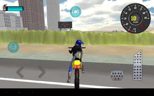 玩免費模擬APP|下載摩托車駕駛3D app不用錢|硬是要APP
