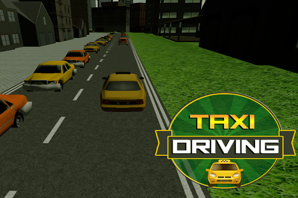 Taxi Driving - screenshot