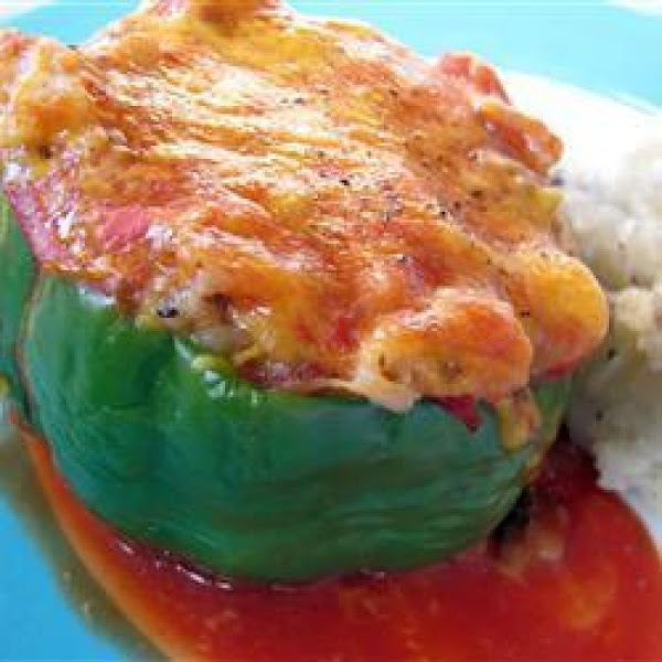 My Stuffed Green Peppers / Shaney's Favorite Recipe