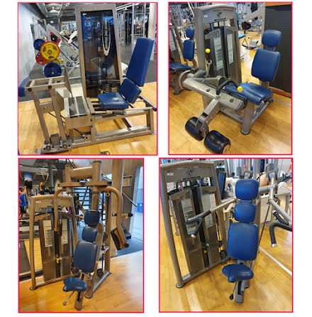12 st gymmaskiner, Pulse Fitness