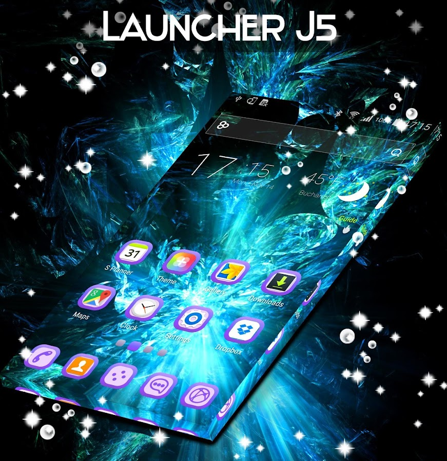 Launcher For J5- screenshot