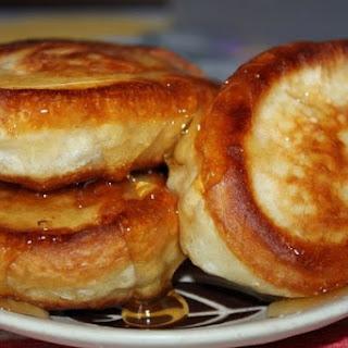 Pancakes Honey Milk