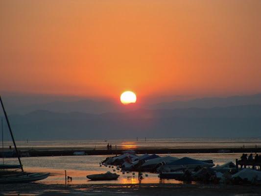 Barche all'alba di Marco Siega Vignut