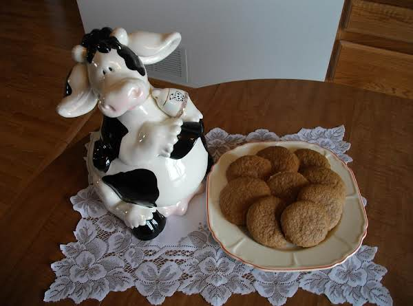 I Thought I'd Display These Cookies With My Favorite Cookie Jar!