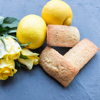 Lemon And Poppy Seed Financiers