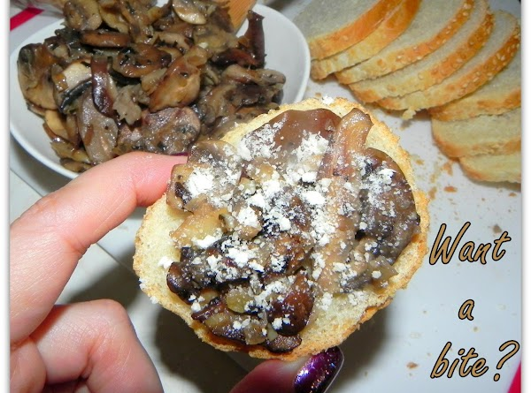 If you love your shrooms you will really enjoy this appetizer. Want a bite?