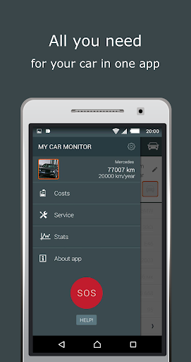 My Car Monitor-app 4 carlovers