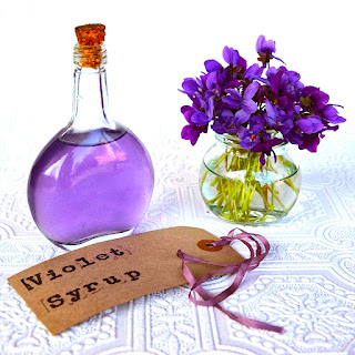 The Hirshon Violet Syrup Recipe