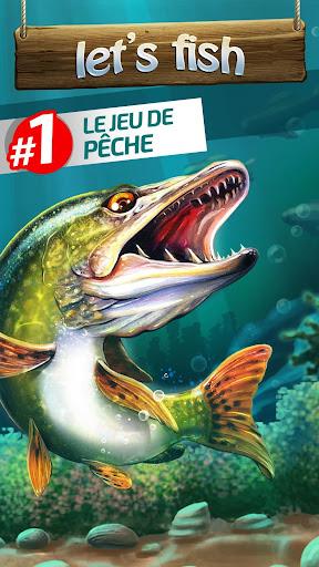 Let's Fish: Jeux de Pu00eache. Simulateur de pu00eache.  captures d'u00e9cran 1