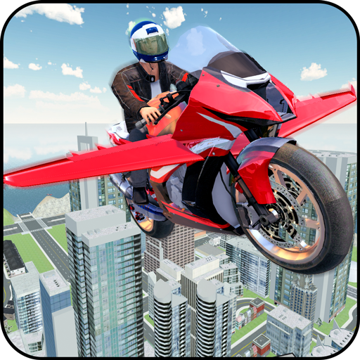 Futuristic Flying Bike Game