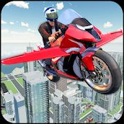 Futuristic Flying Bike Game