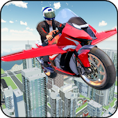 Futuristic Flying Bike Game Android APK Download Free By Game Scapes Inc