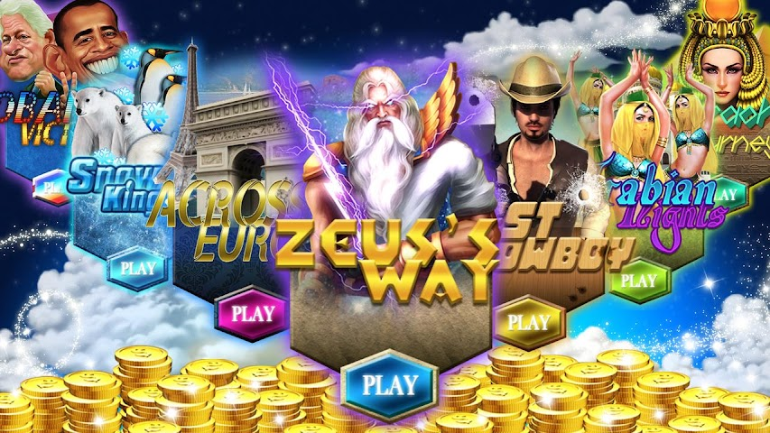 free zeus slots no download
