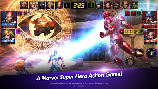 play MARVEL Future Fight on pc & mac