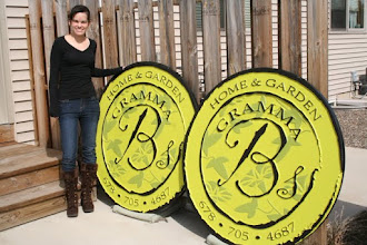 Photo: Carved Sign Gramma B's Atlanta Georgia More @ www.nicecarvings.com